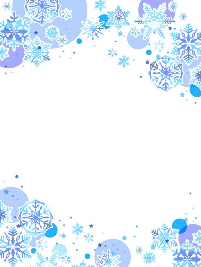 雪と星のカード