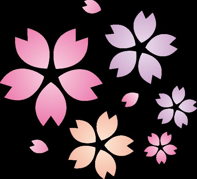 桜の花びら 春 花見イメージ 06 無料イラスト素材 素材ラボ