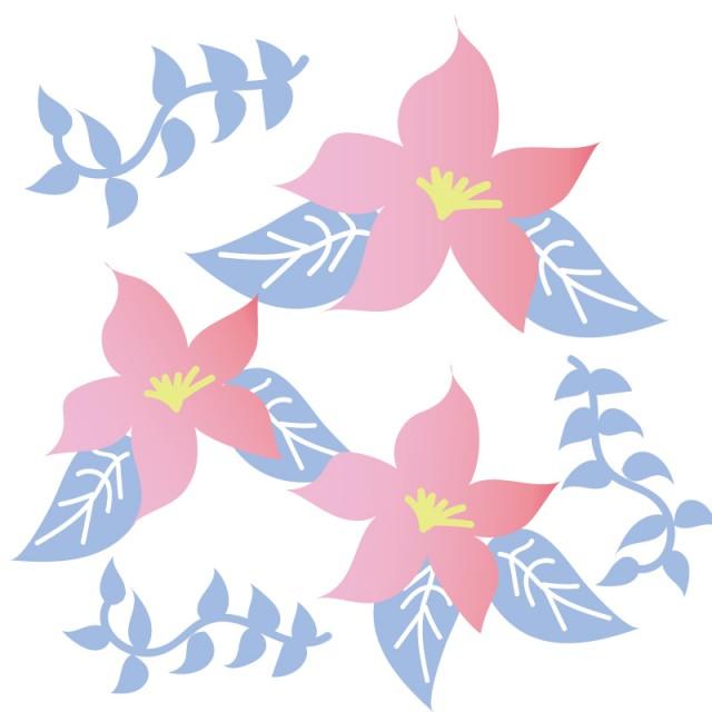 かわいいお花の素材 無料イラスト素材 素材ラボ