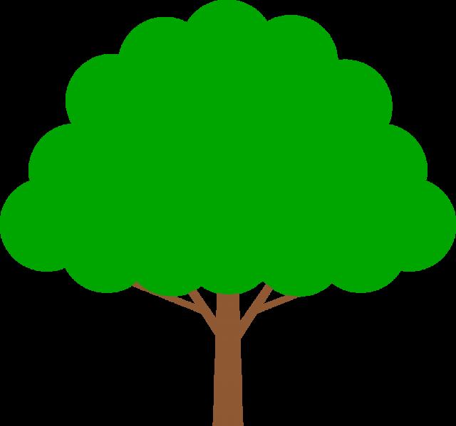 シンプルな木csaipng 無料イラスト素材素材ラボ