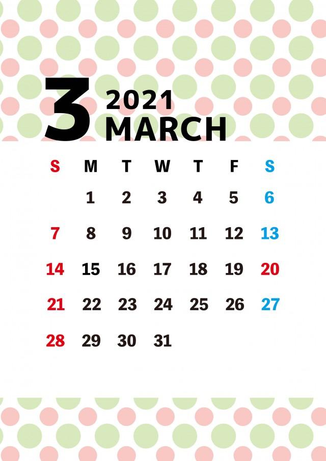 3 月 カレンダー