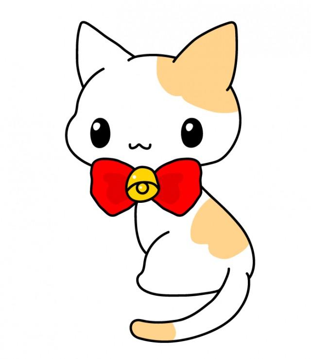 可愛い猫ちゃんのイラスト素材 無料イラスト素材素材ラボ