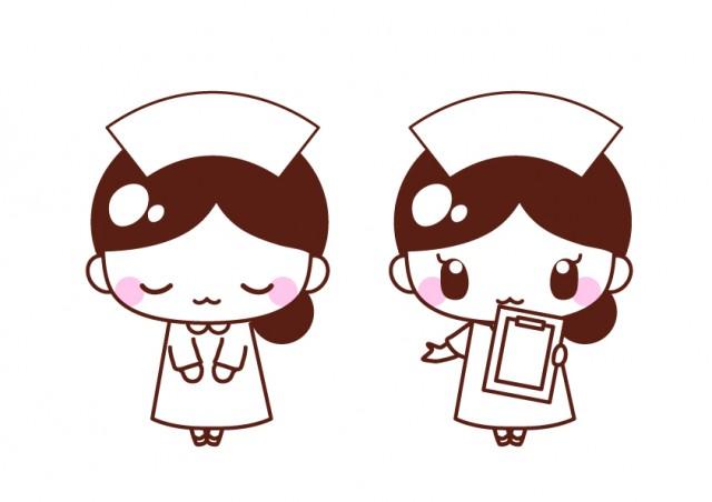 看護師さんのイラスト素材 無料イラスト素材素材ラボ