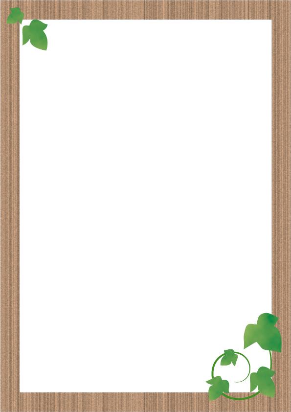 木枠のフレーム 無料イラスト素材素材ラボ