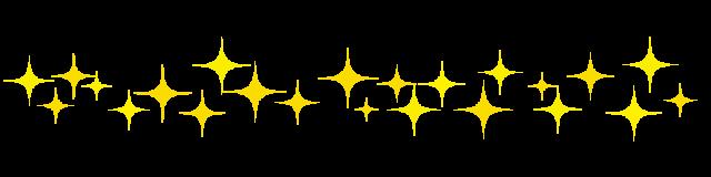 キラキラのライン素材 無料イラスト素材素材ラボ