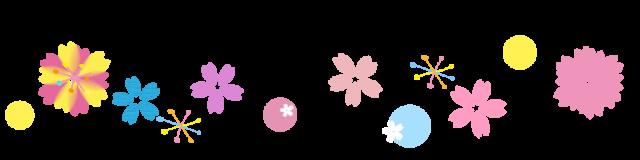 桜の花のライン素…