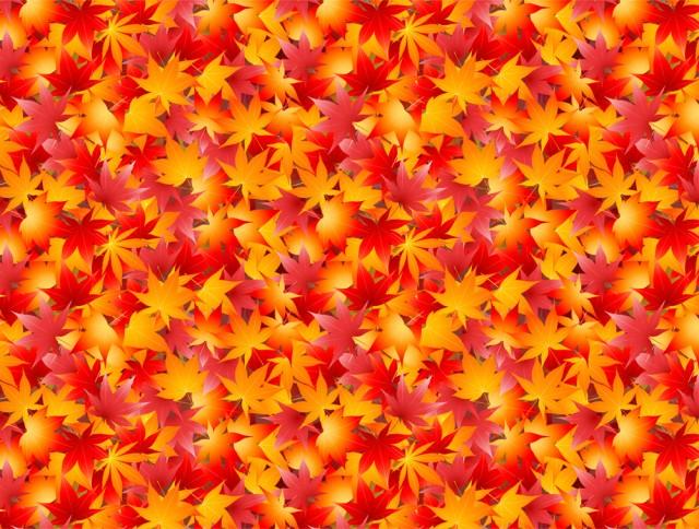 紅葉のじゅうたんパターン背景csaijpg 無料イラスト素材素材ラボ