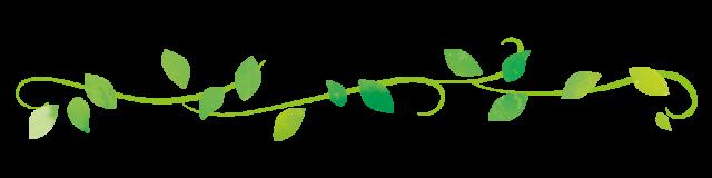 葉っぱのライン素材 無料イラスト素材 素材ラボ