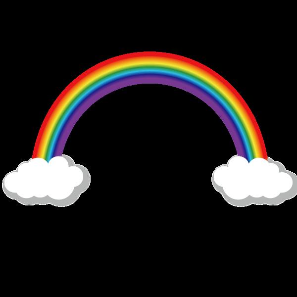 ベクター 虹のイラスト 無料イラスト素材素材ラボ