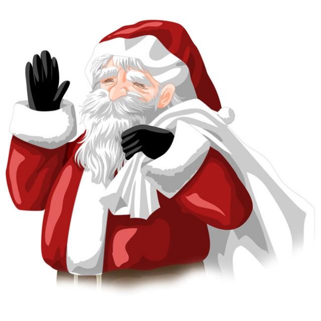 サンタクロースのおじいさん 無料イラスト素材素材ラボ