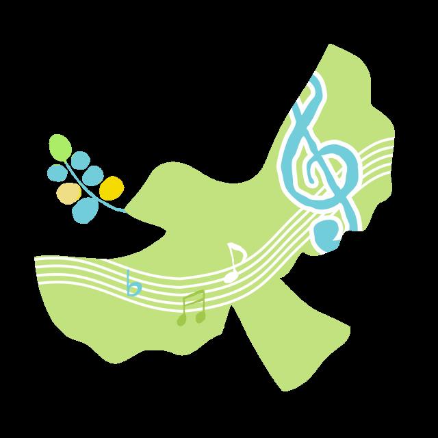 小鳥の歌 | 無料イラスト素材|素材ラボ